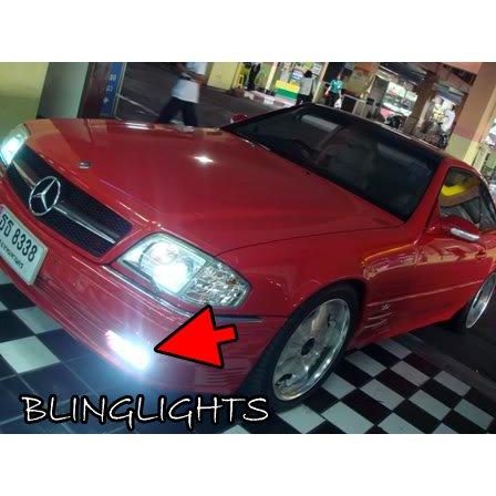1990-2002 Mercedes-Benz SL-Class R129 Xenon Fog Lamps Driving Lights Foglamps Foglights Kit