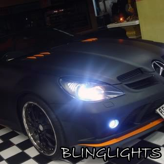 2004 2011 mercedes benz slk class r171 oem factory hid for Mercedes benz light bulb replacement