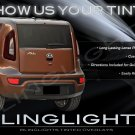 Kia Soul Tinted Smoked Taillamps Taillights Overlays Film Protection