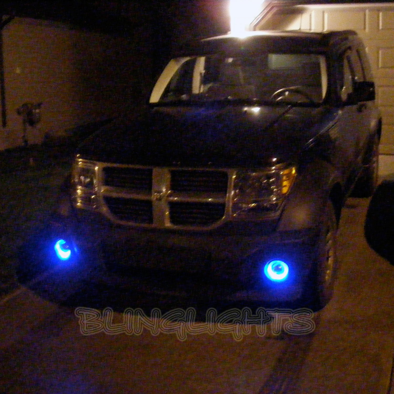 2007 2008 2009 2010 2011 2012 Dodge Nitro Blue Halo Fog Lamps Lights Kit