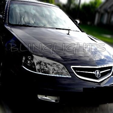 Acura CL LED DRL Strip Lights for Headlamps Headlights Day Time Running Lamps Strip Lights