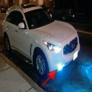 2009 2010 2011 2012 2013 Infiniti FX FX30d FX35 FX37 FX50 Xenon Fog Lamps Lights Foglamps Kit