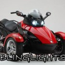 Can-Am Spyder Roadster Trike Bright Replacement White Light Bulbs for Headlamps Headlights