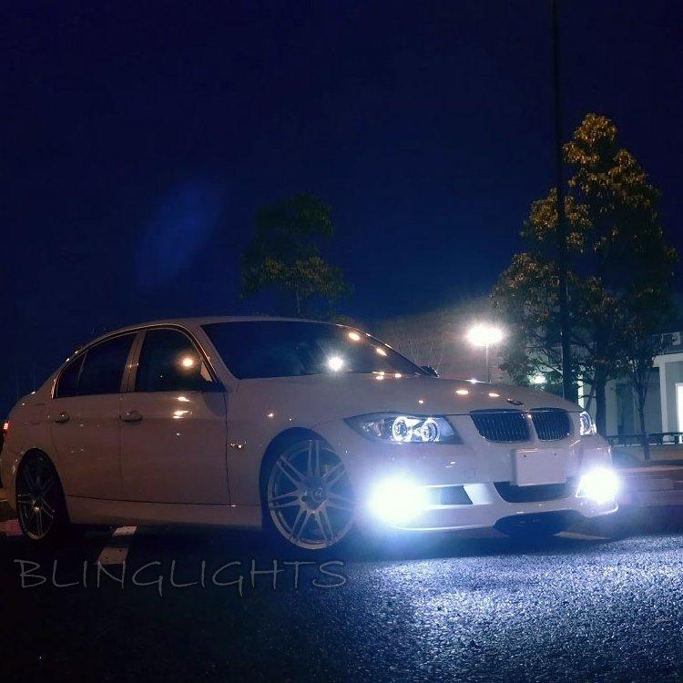 2005 2006 2007 2008 2009 2010 2011 2012 BMW E91 LED Fog Lamps Driving Lights Foglamps Kit