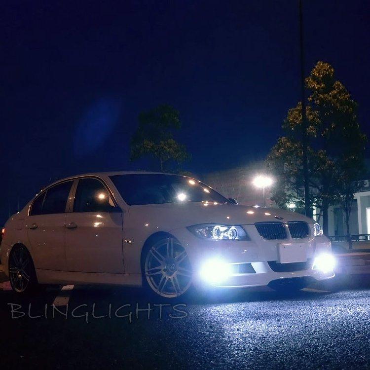 2005 2006 2007 2008 2009 2010 2011 2012 BMW 323i LED Fog Lamps Driving Lights Foglamps Kit
