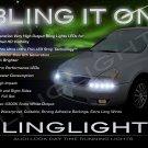 Kia Sedona LED DRL Head Light Strips Day Time Running Lamps Kit