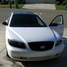 Hyundai Grandeur TG Tinted Smoked Headlamps Headlights Overlays Film Protection
