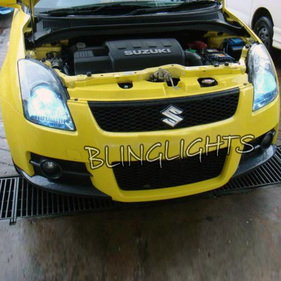 Suzuki Swift Bright White Replacement Light Bulbs for Headlamps Headlights Head Lamps Lights