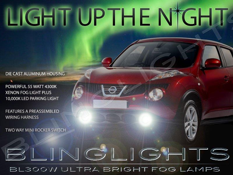 2011 2012 2013 2014 Nissan Juke Fog Lamp Driving Light Kit