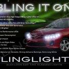 Toyota Corolla LED DRL Head Lamp Light Strips Day Time Running Kit