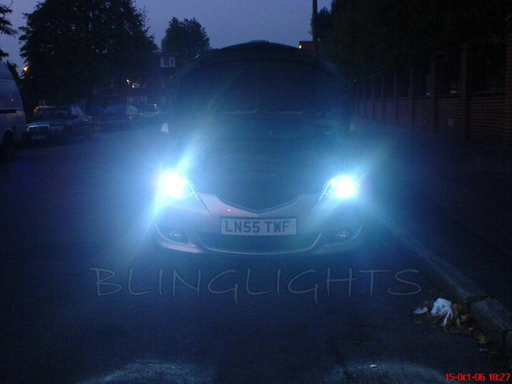 Mazda3 HID Head Lamp Xenon Light Conversion Kit 55 Watts