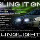 Alfa Romeo 156 LED DRL Light Strips for Headlamps Headlights Head Lamps Day Time Running Lights