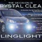2009 2010 2011 Chevrolet Chevy Lova LED Fog Lamps Driving Lights Foglamps Foglights Kit