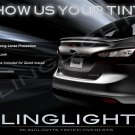 2012-2014 Ford Focus Sedan Tinted Smoked Tail Lamps Lights Overlays Film Protection
