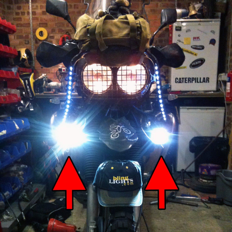 Yamaha XTV 750 Super Ténéré LED Fog Lamps Driving Lights Foglamps Foglights Kit