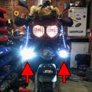 Yamaha XTV 750 Super Ténéré LED Fog Lamps Driving Lights Foglamps Foglights Kit