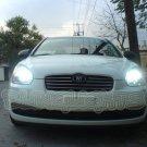 2006 2007 2008 2009 2010 2011 Hyundai Brio Bright White Upgrade Light Bulbs for Headlamps Headlights