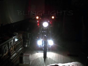 2011 2012 2013 Harley-Davidson FXS Blackline Softail Xenon Driving Lights Fog Lamps Foglamps Kit