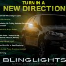 Ford Territory LED Side Mirror Turnsignals Lights LEDs Mirrors Turn Signals Lamps Signalers