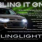Ford Territory LED DRL Head Light Strips Day Time Runnning Lamps