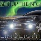 2012 2013 2013 Kia All New Pride Xenon Fog Lamps Driving Lights Foglamps Foglights Kit