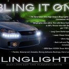 Kia Sephia LED DRL Light Strips for Headlamps Headlights Head Lamps Day Time Running Strip Lights