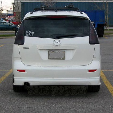 Ford i-MAX Tinted Smoked Protection Overlays Film for Taillamps Taillights Tail Lamps Lights
