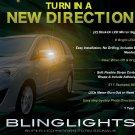 Mazda Premacy LED Side Mirror Turn Signal Light Blinker Lamps Kit Turnsignalers set of 2