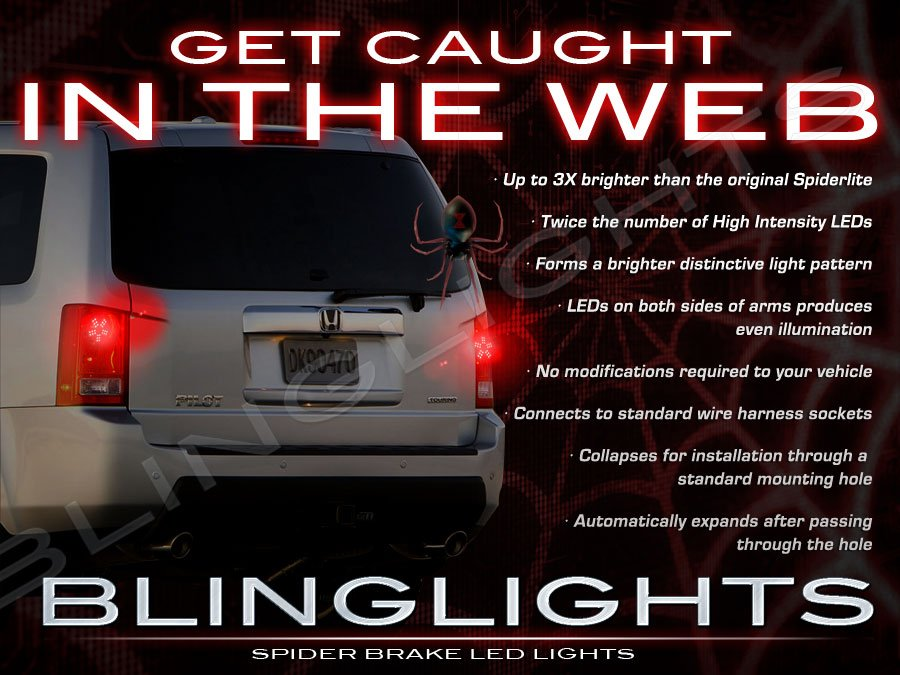 Honda MR-V LED Custom Upgrade Brake Light Bulbs for Taillamps Taillights Tail Lamps Lights