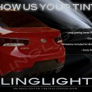 Naza Forte Tinted Smoked Protection Overlays Film for Headlamps Headlights Head Lamps Lights