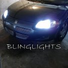 Dodge Stratus Bright White Upgrade Replacement Light Bulbs Headlamps Headlights Head Lamps Lights