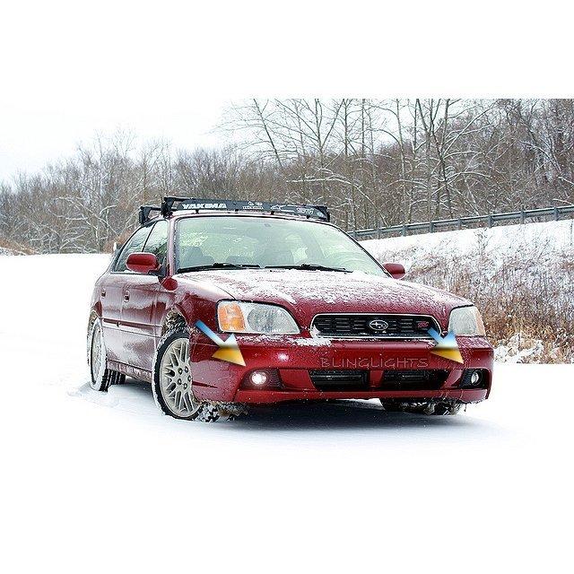 1999 2000 2001 2002 2003 Subaru Liberty Xenon Fog Lamps Driving Lights Foglamps BE BH Kit