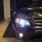 2003 2004 2005 2006 2007 2008 2009 Subaru Liberty Xenon Fog Lamps Driving Lights BL BP Foglamps Kit
