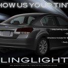 Subaru Liberty Tinted Smoked Tail Lights Lamps Overlays Film Protection