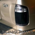 Nissan Terrano Regulus Tinted Smoked Protection Overlays for Taillamps Taillights Tail Lamps Lights