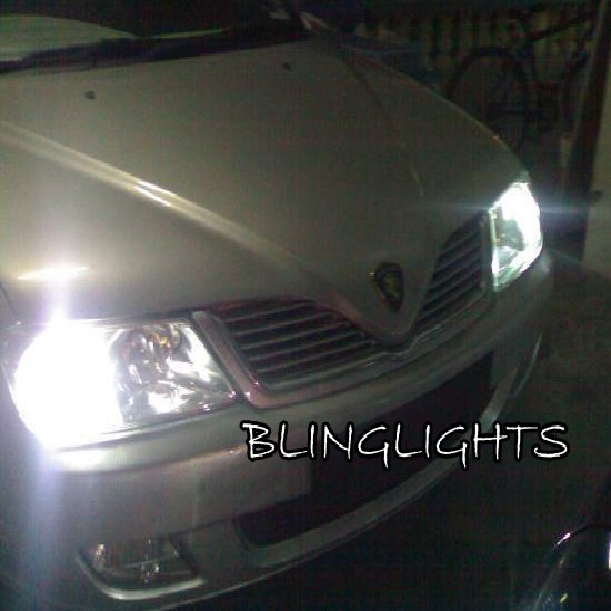 Proton Waja Bright White Upgrade Replacement Light Bulbs for Headlamps Headlights Head Lamps Lights