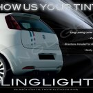 Fiat Grande Punto Evo Smoked Taillamp Taillight Tinted Covers