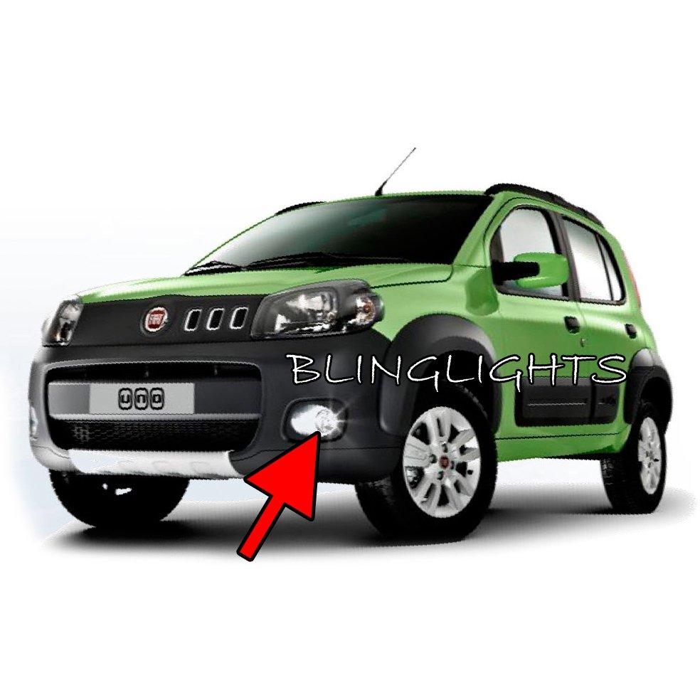 2011 2012 2013 Fiat Uno Novo Xenon Fog Lamps Driving Lights Foglamps Foglights Drivinglights Kit
