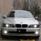 2000 2001 2002 2003 BMW 5 Series E39 Xenon Fog Lamps Driving Lights Foglamps Foglights Kit
