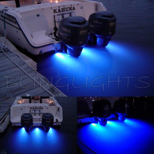 Grady-White Boats LED Underwater Aqua Lamp Marine Bronze Light Fish Yacht Custom Thru Hull Lighting