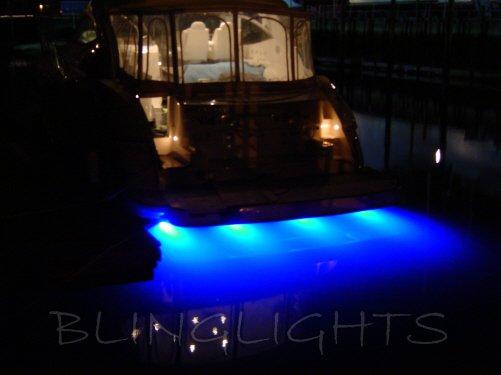 Cruisers Yacht LED Underwater Aqua Lamp Marine Under Fish Boat Lights Custom Thru Hull Lighting