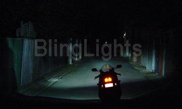 H6M P15D S2 BA20D P43T-38 C165 Xenon 6000K 55watt Hi Low HID Conversion Kit Motorcycle Motorbike ATV