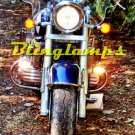 Honda Valkyrie GL 1500 GL1500 GL1500C F6C Yellow Xenon Fog Lamps Lights Foglamps Foglights Kit