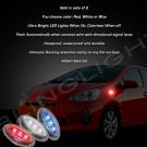 Toyota Prius C LED Side Marker Turnsignal Lights Accent Lamp Turn Signal Signalers Markers Blinkers