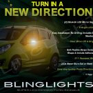 Chevrolet Chevy Spark LED Side Mirrors Turnsignals Lights Accents Turn Signals Lamps Signalers