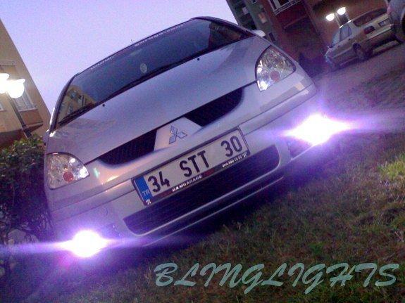 2003 2004 2005 2006 2007 2008 Mitsubishi Colt Xenon Fog Lamps Driving Lights Foglamps Foglights Kit