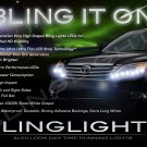 Toyota Avalon LED DRL Strips for Headlamps Headlights Head Lamps Day Time Running Strip Lights