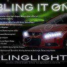 Honda Civic LED DRL Light Strips for Headlamps Headlights Head Lamps Day Time Running Lights