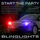 Toyota Avalon Police Strobe Light Kit for Headlamps Headlights Head Lamps Lights Strobes