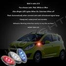 Daewoo Matiz LED Flushmount Turnsignal Marker Lights Pair Blinkers M100 M150 M200 M250 M300